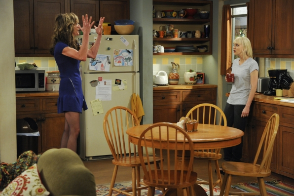 "Mother/daughter moment in ""Corned Beef and Handcuffs"" Episode 12 of Season 1"