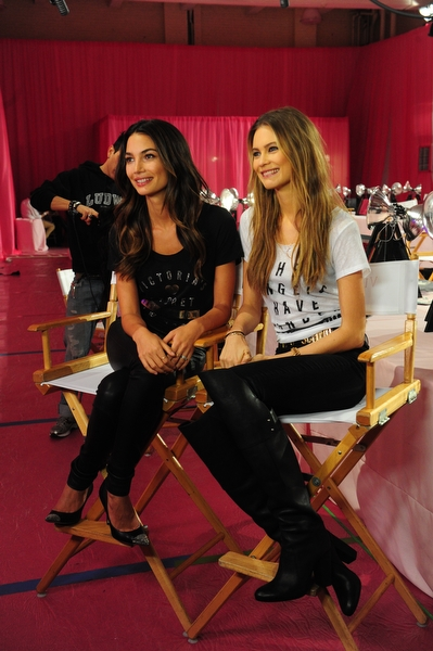 Lily Aldridge and Behati Prinsloo