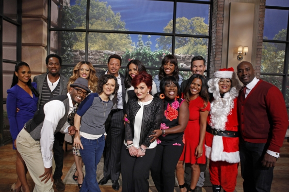 """The Best Man Holiday"" Cast"