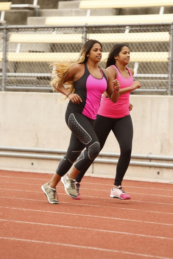 Natalie and Nadiya on the Season 24 Premiere