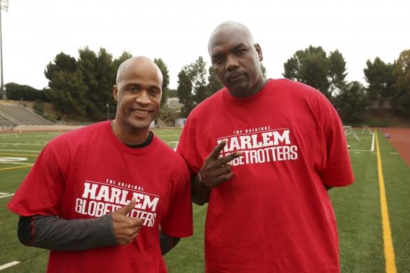 Harlem Globetrotters on the Season 24 Premiere