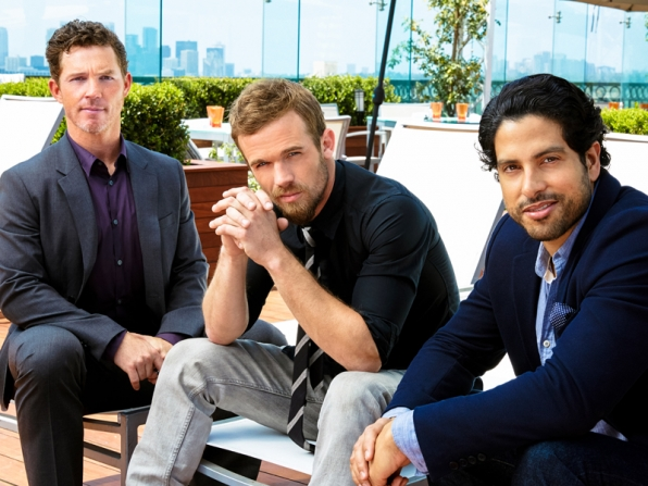 Cam Gigandet, Adam Rodriguez and Shawn Hatosy