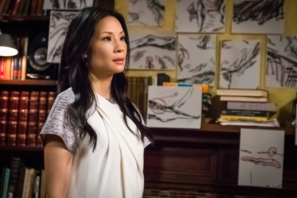 6. Lucy Liu is an artist. Her artwork can be seen on the upcoming season of Elementary.