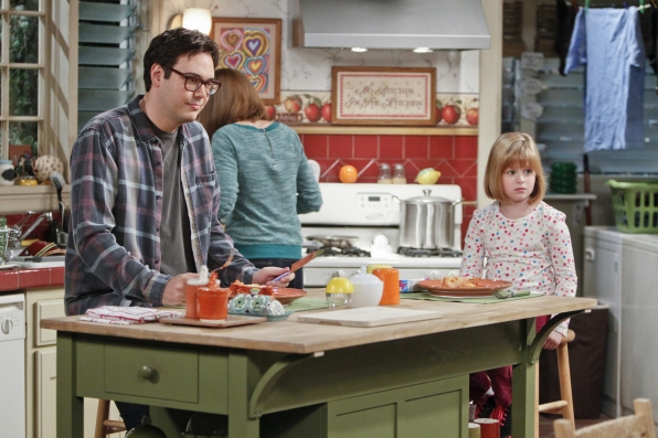 "Family cooking in ""Driving Miss Crazy"" Episode 13 of Season 1"
