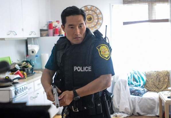Chin in Uniform in Season 4 Episode 13