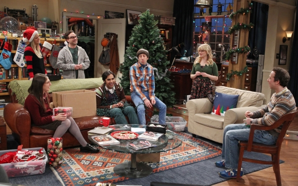 "The Big Bang gang in ""The Cooper Extraction"" Episode 11 of Season 7"