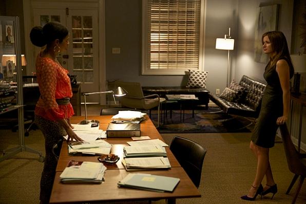 """Vi and Jamie in """"Civil Wars"""" - Season 1 Finale"""