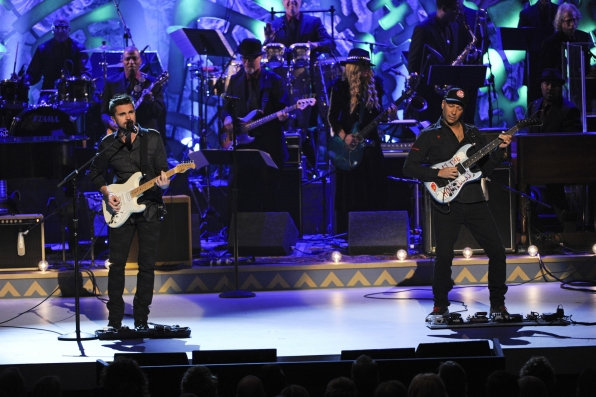 Juanes and Tom Morello