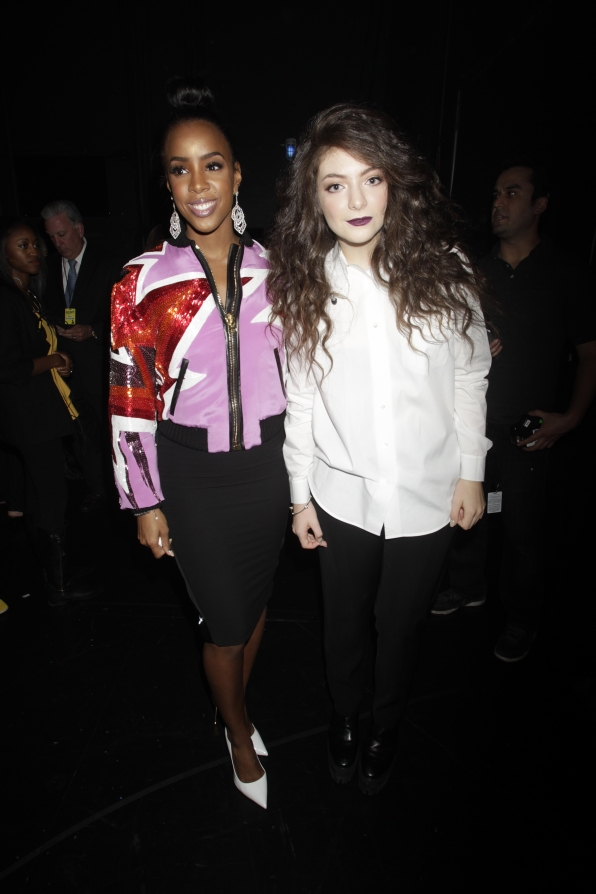 Kelly Rowland and Lorde