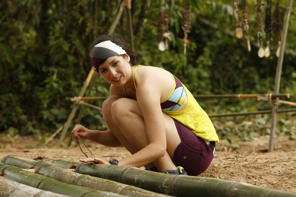 Building a raft in Season 24 Episode 3
