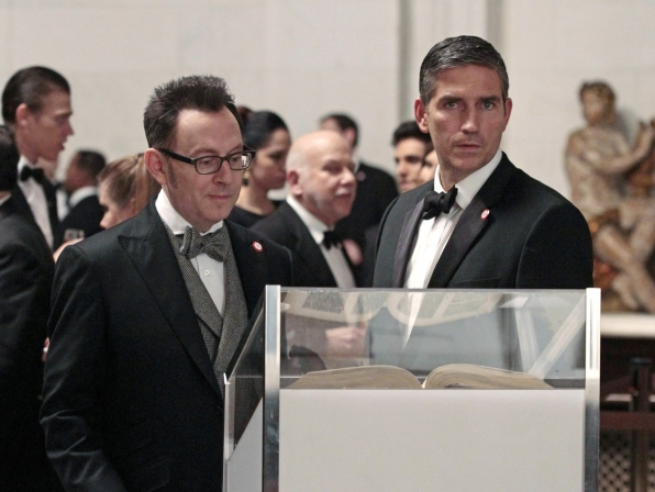 8. Reese and Finch - Person of Interest