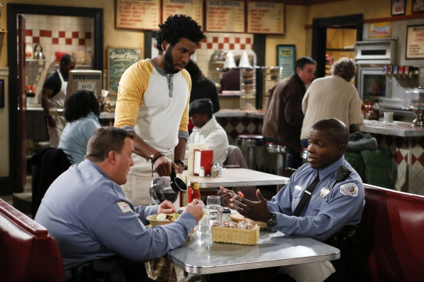 """Guy talk in """"Mind Over Molly"""" S4 E12"""