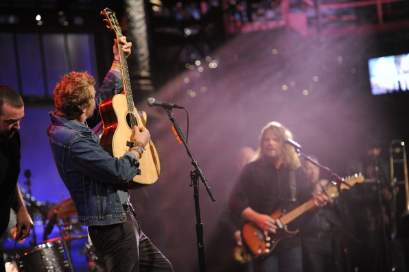 Glen Hansard Live on Letterman