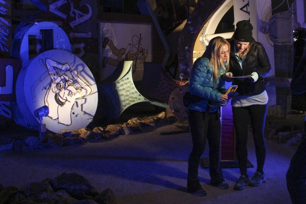 Caroline and Jennifer in The Amazing Race Season Finale