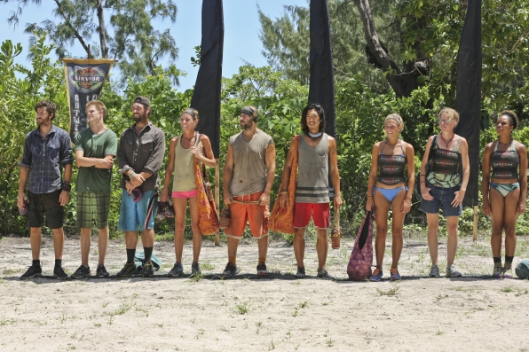 Merged tribe in Season 28 Episode 8