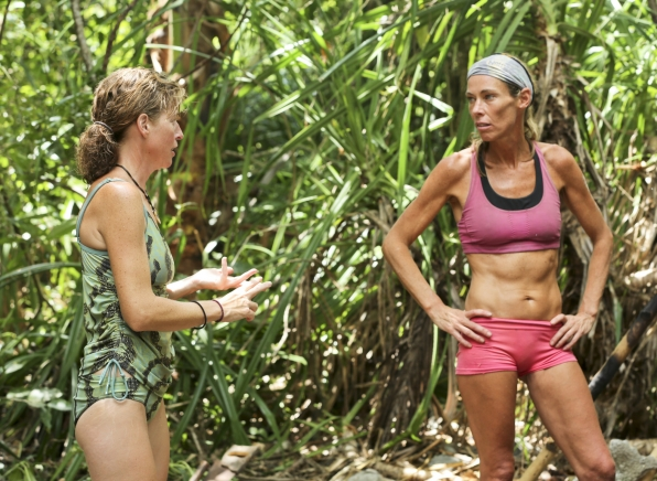 Kass and Trish in Season 28 Episode 8