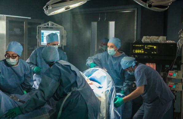 Ellen in surgery