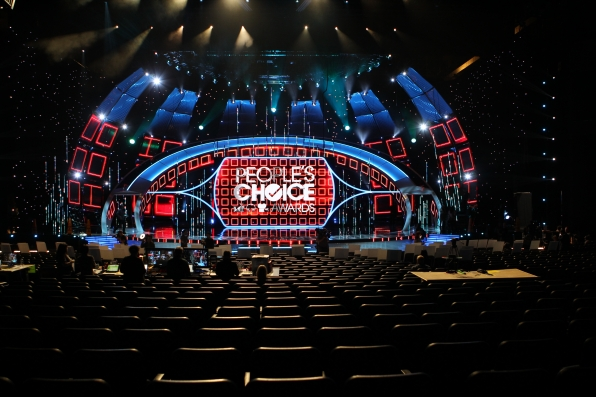 People's Choice Awards Stage