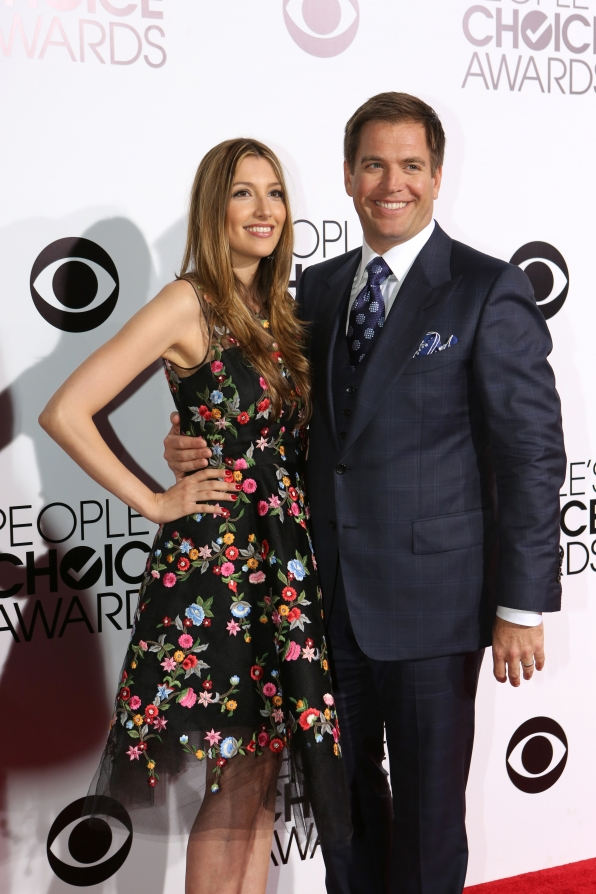 The 2014 People's Choice Awards Red Carpet - Michael Weatherly