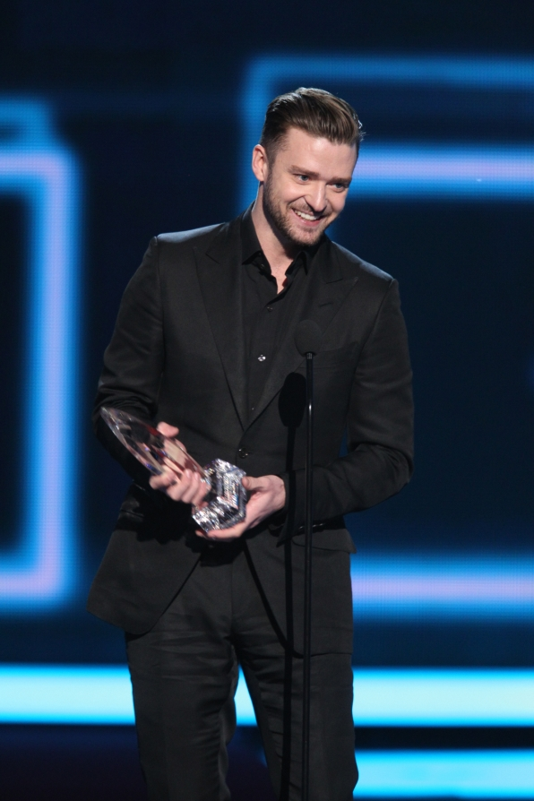 The 2014 People's Choice Awards Show - Justin Timberlake