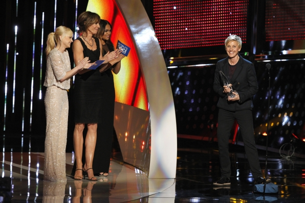 The 2014 People's Choice Awards Show - Favorite Daytime TV Host: Ellen Degeneres