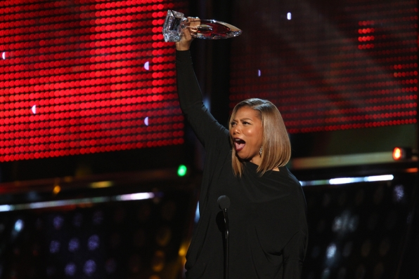 The 2014 People's Choice Awards Show - Favorite New Talk Show Host: Queen Latifah