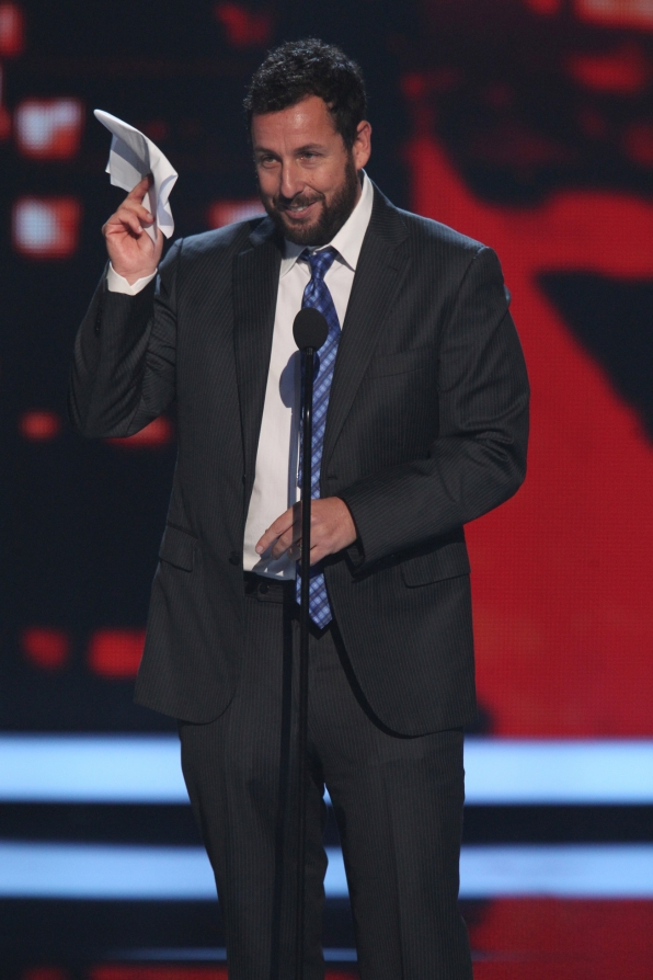 The 2014 People's Choice Awards Show - Favorite Comedic Movie Actor: Adam Sandler