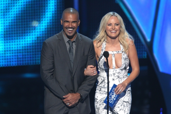 The 2014 People's Choice Awards Show - Shemar Moore and Malin Akerman