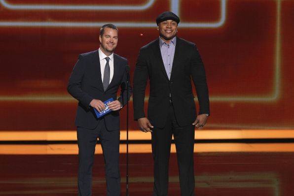 The 2014 People's Choice Awards Show - Chris O'Donnell and LL Cool J