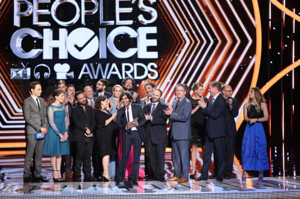 The 2014 People's Choice Awards Show - Favorite Network TV Comedy: The Big Bang Theory