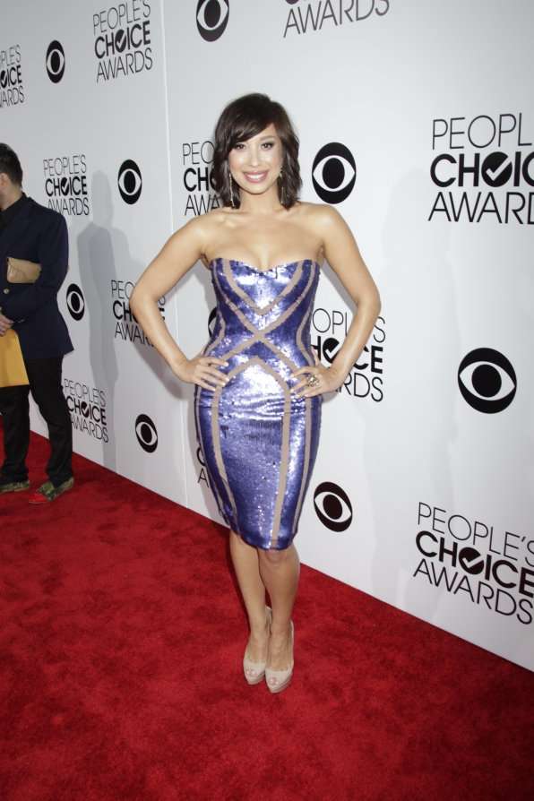The 2014 People's Choice Awards Red Carpet - Cheryl Burke