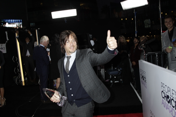 The 2014 People's Choice Awards Red Carpet - Norman Reedus