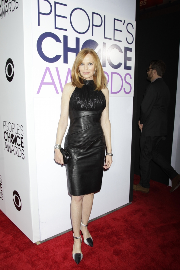 The 2014 People's Choice Awards Red Carpet - Marg Helgenberger