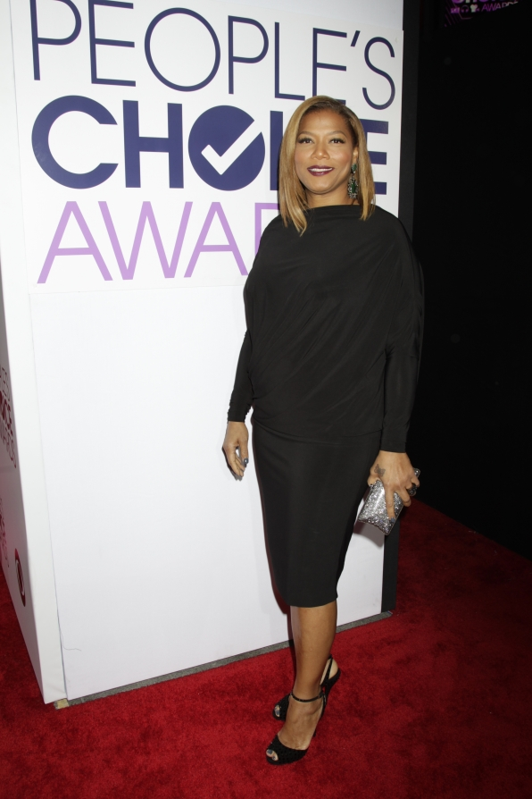 The 2014 People's Choice Awards Red Carpet - Queen Latifah
