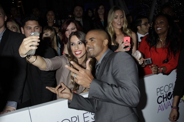 The 2014 People's Choice Awards Red Carpet - Shemar Moore