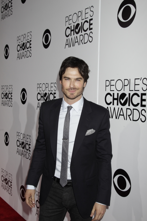 The 2014 People's Choice Awards Red Carpet - Ian Somerhalder
