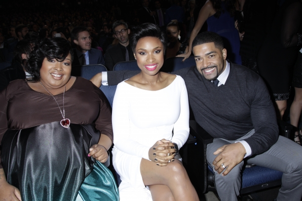 The 2014 People's Choice Awards Behind The Scenes - Jennifer Hudson