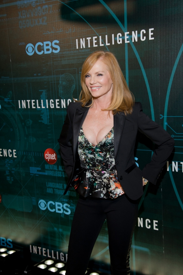 Marg Helgenberger at CES