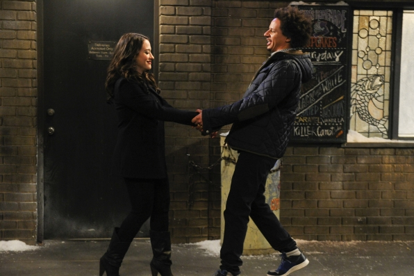 """Dancing duo in """"And the Dumpster Sex"""" Episode 14 of Season 3"""