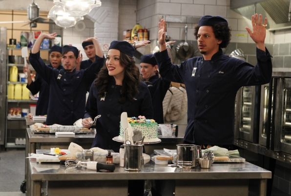 "Hands up in ""And The Icing On The Cake"" Episode 15 of Season 3"