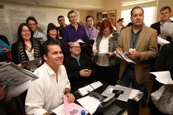 Meet the Press at TCAs Set Tour