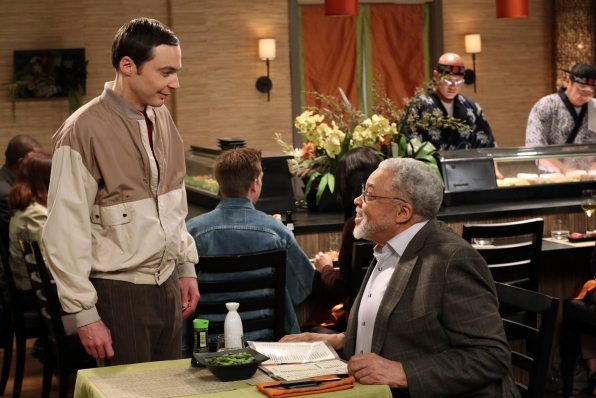 Image result for sheldon and james earl jones
