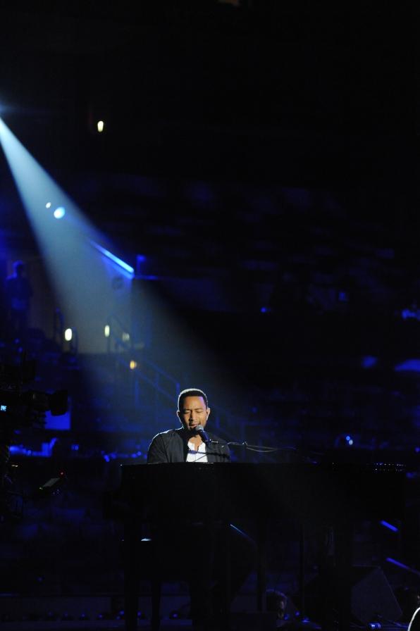 2014 GRAMMY Rehearsal Photos - John Legend