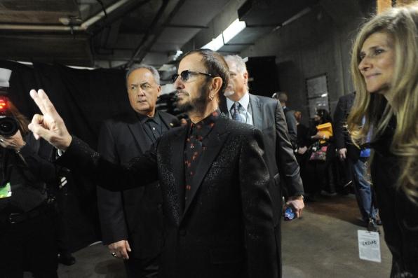 Ringo Starr Backstage - GRAMMYs 2014 - CBS.com