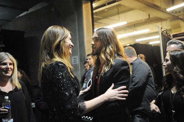 Julia Roberts & Jared Leto - GRAMMYs 2014 - CBS.com