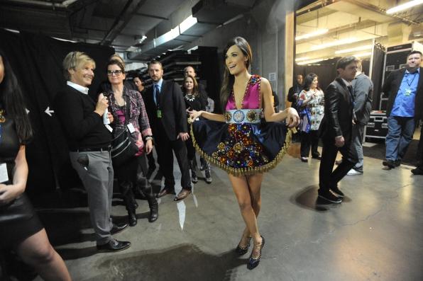 Kacey Musgraves Backstage - GRAMMYs 2014 - CBS.com