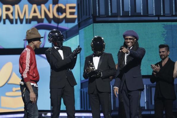 Daft Punk, Pharrell & Nile Rodgers Win - GRAMMYs 2014 - CBS.com