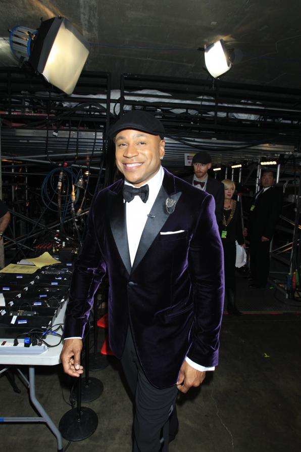 LL Cool J Backstage - GRAMMYs 2014 - CBS.com