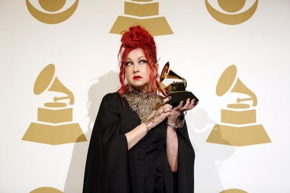 Cyndi Lauper in the Press Room - GRAMMYs 2014 - CBS.com