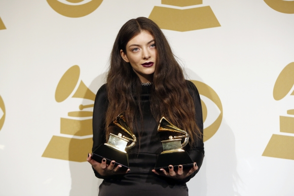 Lorde in the Press Room - GRAMMYs 2014 - CBS.com